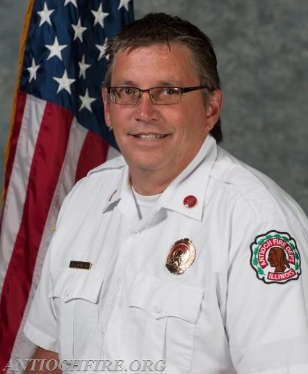 Interim Fire Chief Jon Cokefair